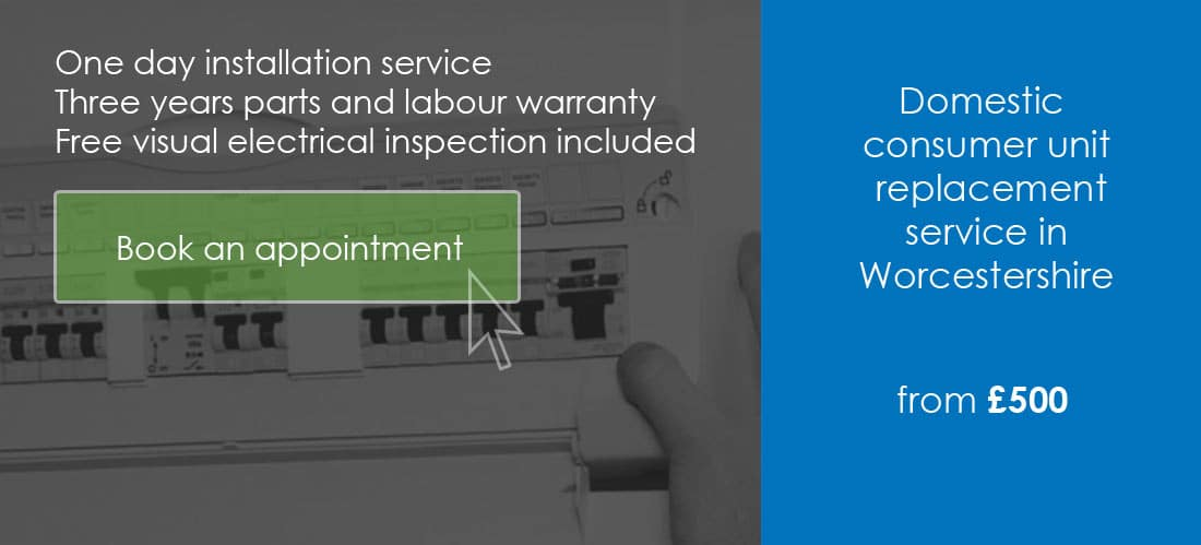 consumer unit replacement worcester
