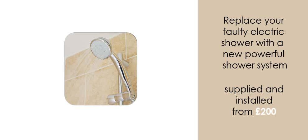 shower installation worcester
